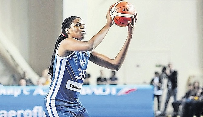 RISING STAR: Jonquel Jones finished with 20 points, 11 rebounds, five assists and two blocked