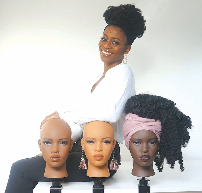 Creative mogul and entrepreneur Shaneka developed Melanie the Mannequin.
