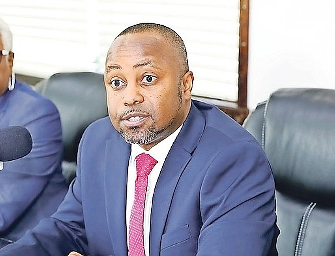 Minister of State for Finance Kwasi Thompson.