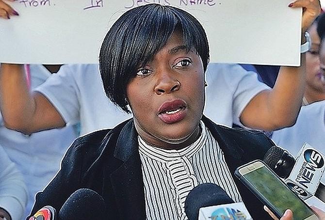 BNU President Amancha Williams. (File photo)