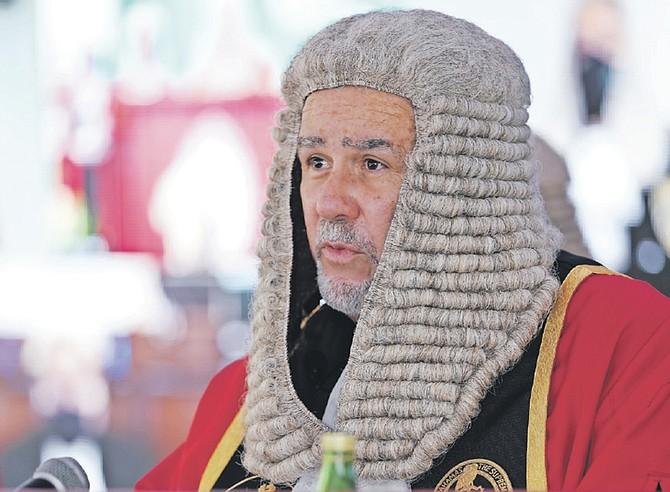 CHIEF Justice Brian Moree.