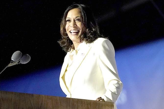 Vice President-elect Kamala Harris.  (AP Photo/Andrew Harnik, File)