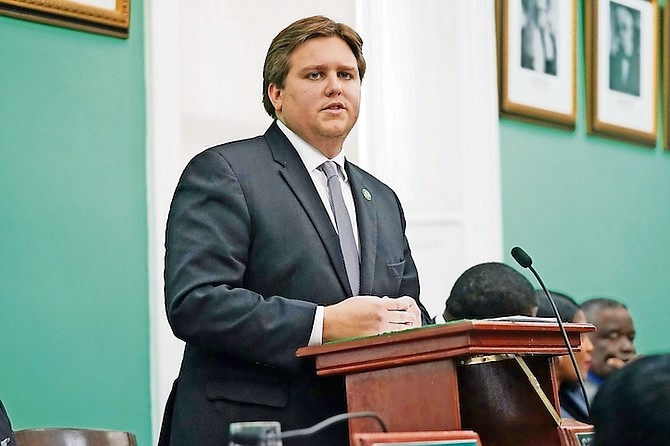 JAMES ALBURY, Parliamentary Secretary in the Office of the Prime Minister in Abaco and MP for Central and South Abaco. Photo: Terrel W Carey Sr/Tribune Staff