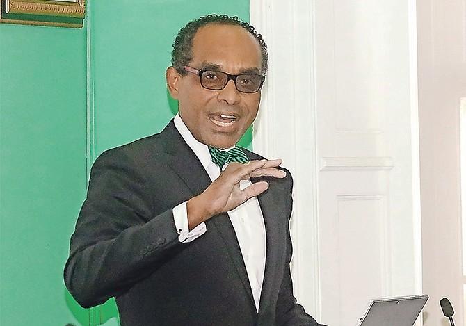 Environment Minister Romauld Ferreira.