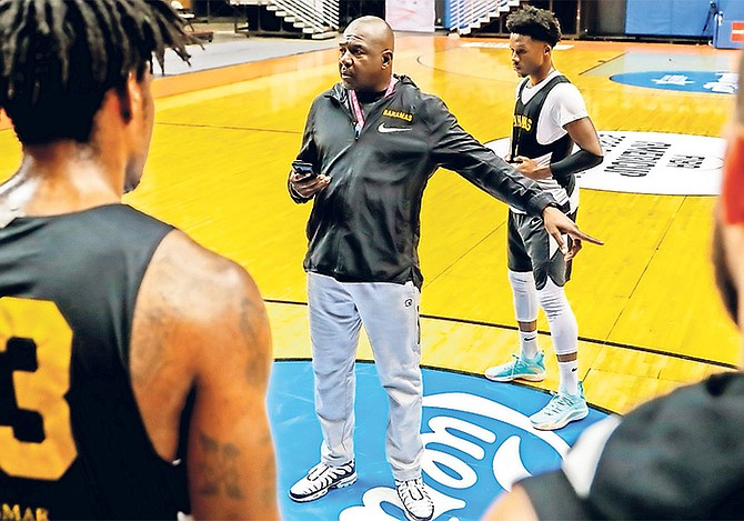 HEAD coach Mario Bowleg and the men's national basketball team are set to face the United States