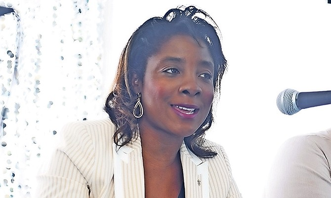 Sea Breeze MP Lanisha Rolle.
