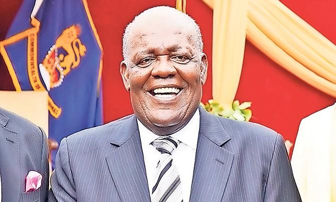 Former Prime Minister Hubert Ingraham.