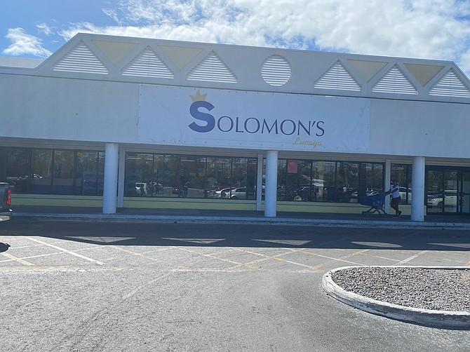 Solomon's Lucaya store.
