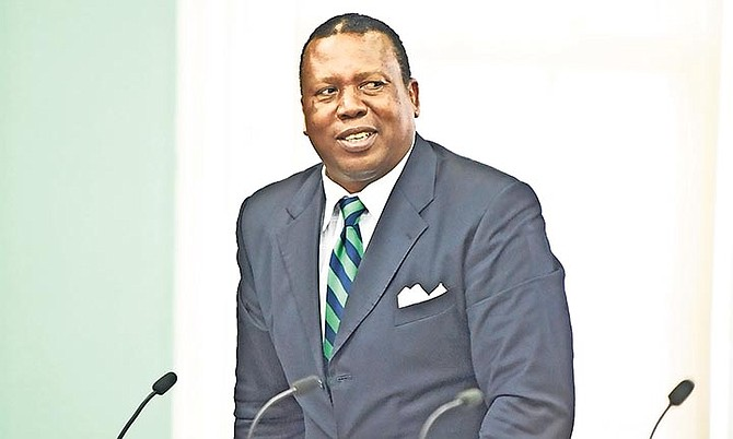 MANGROVE Cay and South and Central Andros MP Picewell Forbes. (File Photo)