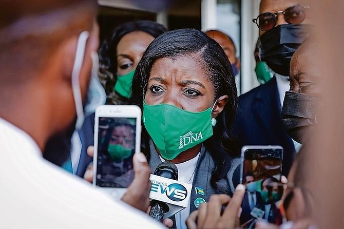 DEMOCRATIC National Alliance Leader Arinthia Komolafe. Photos: Racardo Thomas