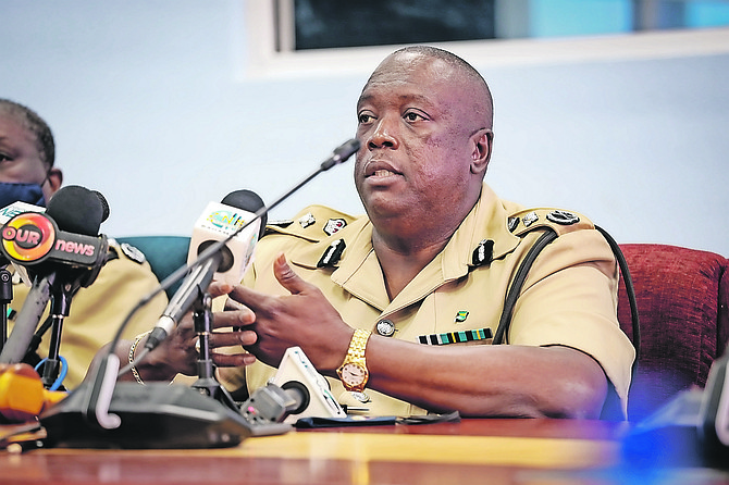 POLICE Commissioner Paul Rolle.