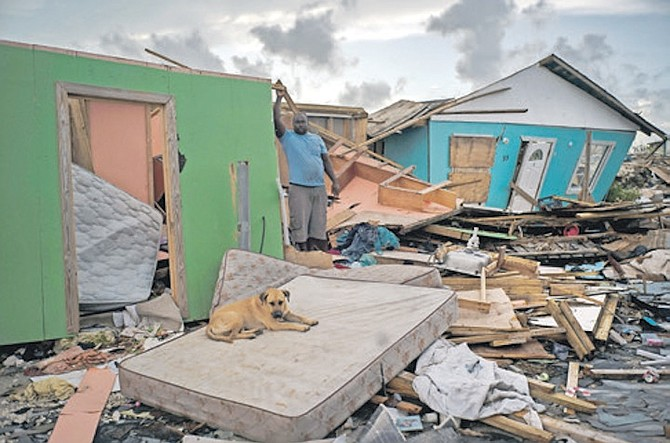 SOME of the damage in Abaco after Hurricane Dorian.