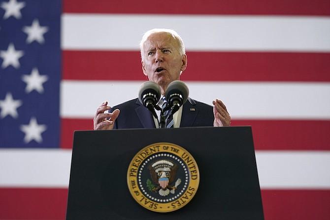 US President Joe Biden. (AP Photo/Patrick Semansky)