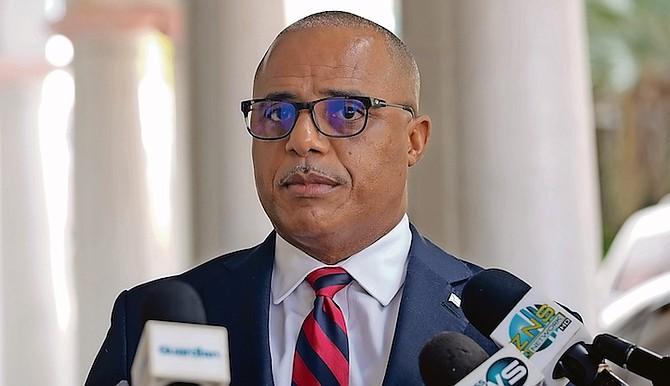 Minister of National Security Marvin Dames. Photo: Donovan McIntosh/Tribune Staff