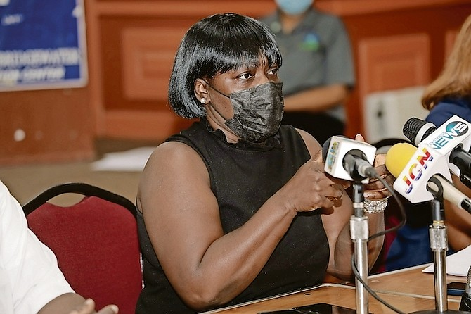BNU President Amancha Williams.