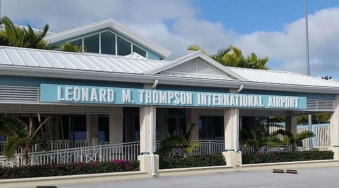 The Leonard M. Thompson International Airport in Marsh Harbour.  (Photo: Nardo242)