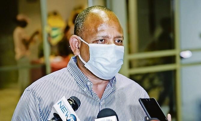 Former Health Minister Dr Duane Sands.